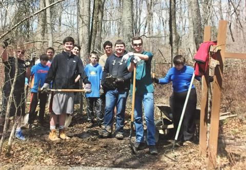 Reb Russell's Peace Valley Eagle Scout Project